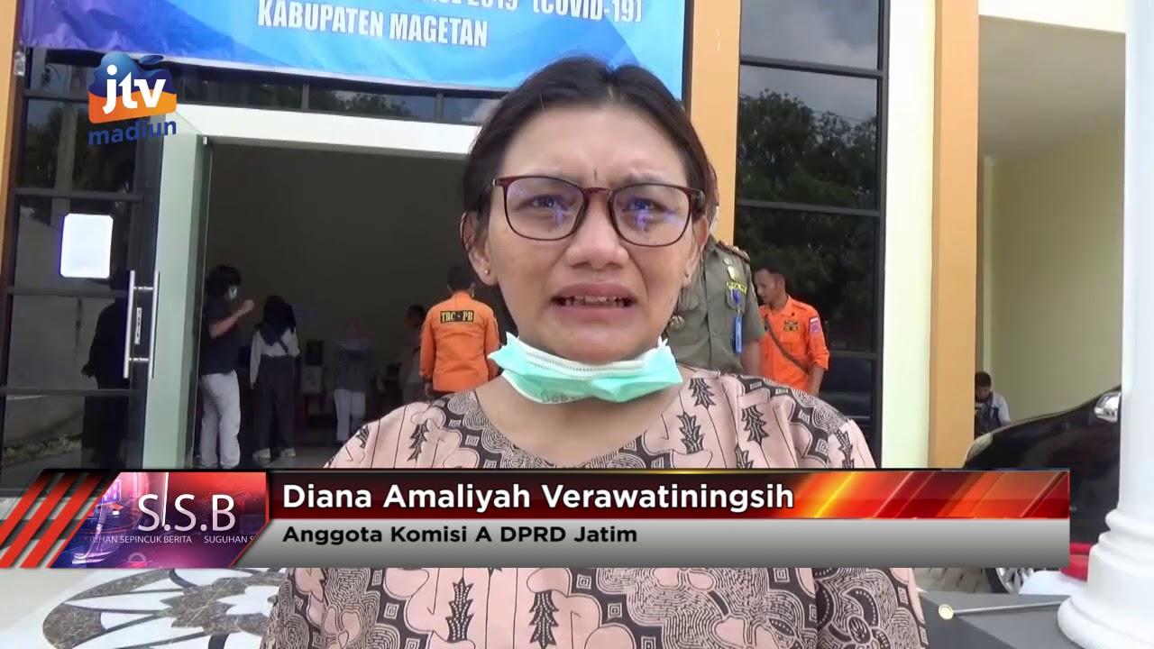 Anggota DPRD Jatim Diana Amaliyah Nilai APD Di Magetan Masih Minim