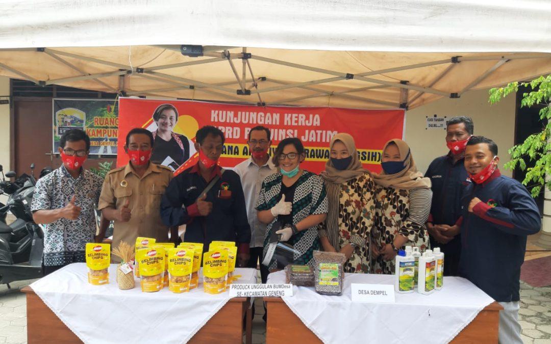 Perkuat Peran BUMDes, DPRD Provinsi Jatim Lakukan Kunjungan Kerja