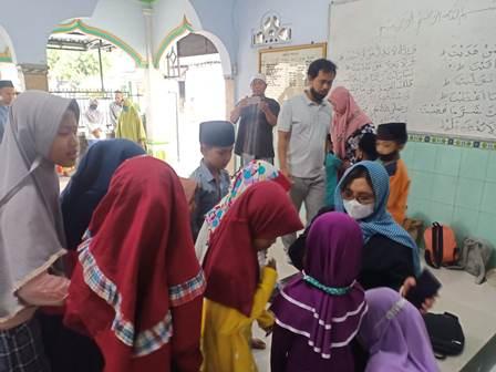 Turba Ke TPA Raudhatul Jannah Desa Grabahan, Magetan